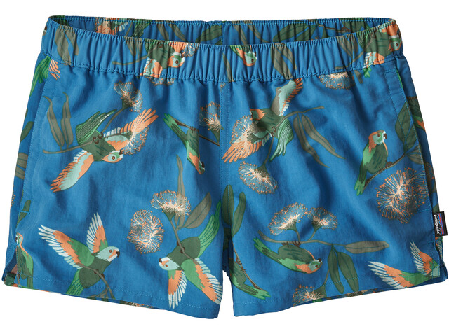 Patagonia Barely Short ample Femme, parrots/port blue